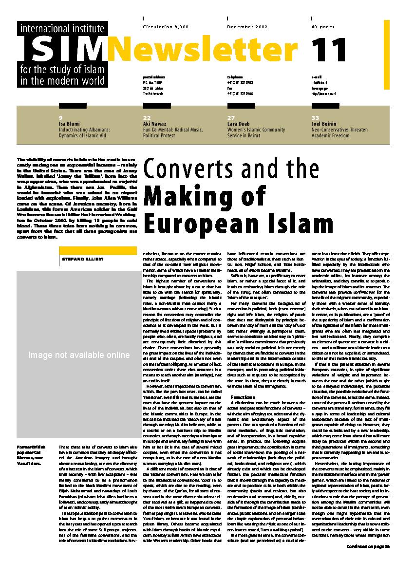 PDF) Islam In France | Moussa KHEDIMELLAH - Academia edu