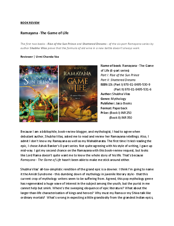 Story summary ramayana Ramayana Synopsis