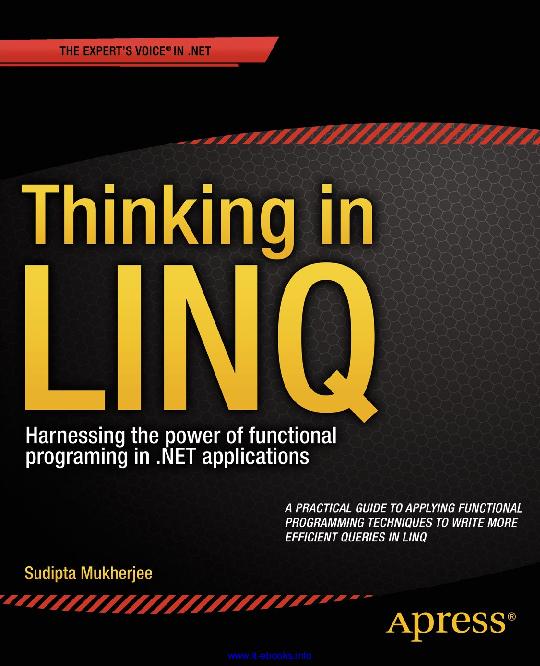 PDF) Thinking in LINQ   Bryan Castillo - Academia edu