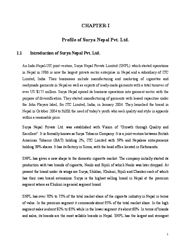 PDF) CHAPTER-I Profile of Surya Nepal | Anup Paudel