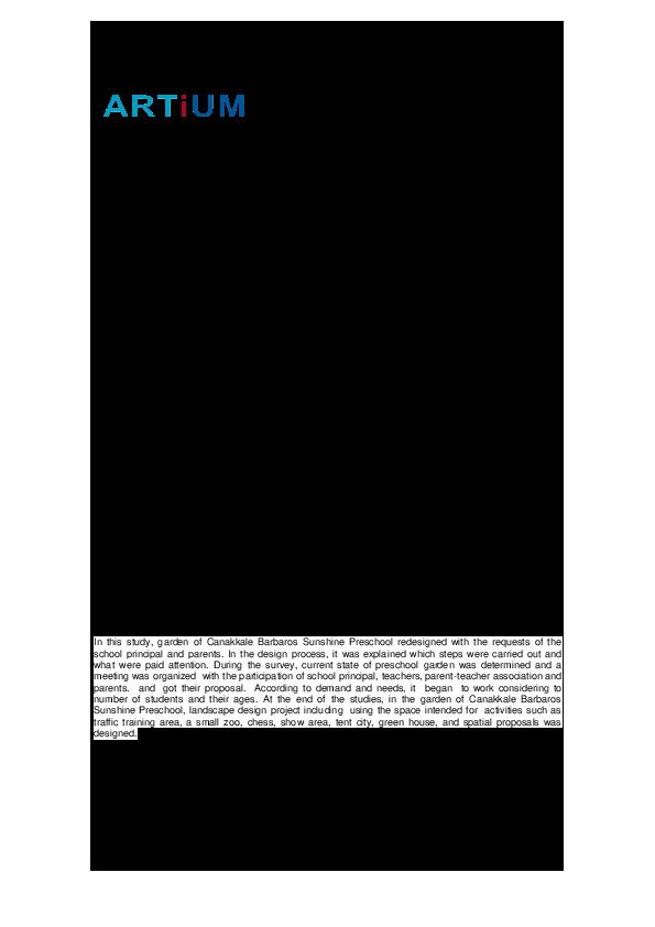 Pdf Canakkale Barbaros Gunisigi Anaokulu Peyzaj Projesi Canakkale Barbaros Sunshine Preschool Landscape Project Alper Saglik And Abdullah Kelkit Academia Edu Aynı zamanda saygı konusunda çok büyük olduğu için, komugi'ye hayatında tanıştığı herkesten daha derinden saygı. academia edu