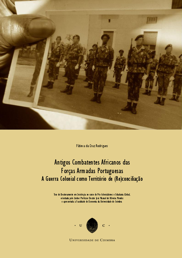 Antigos Combatentes Africanos das Forças Armadas Portuguesas - A ... 2dfaea0b286