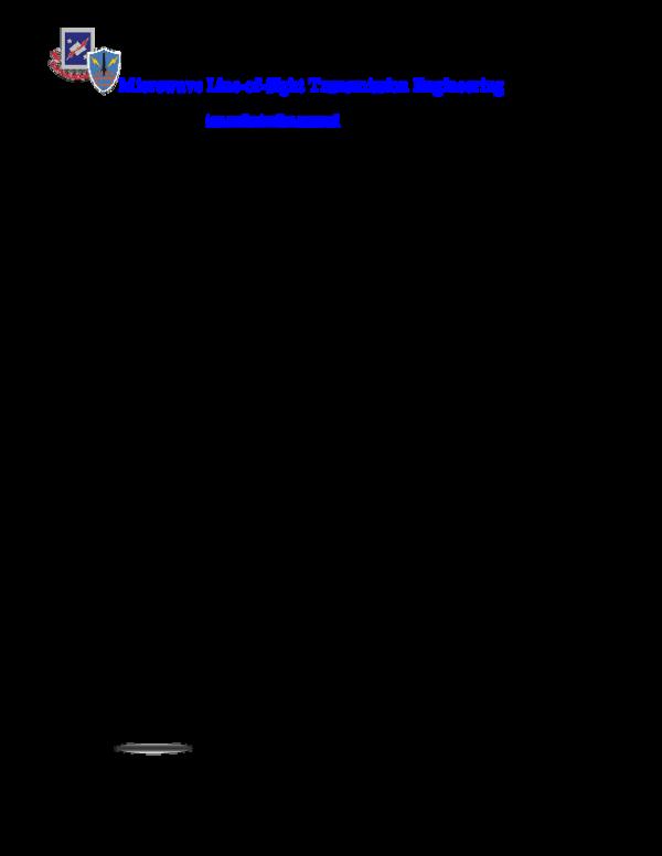 Microwave Transmission Basics Pdf – BestMicrowave