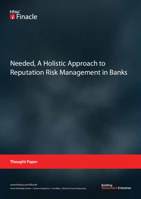 PDF) Needed, A Holistic Approach to Reputation Risk