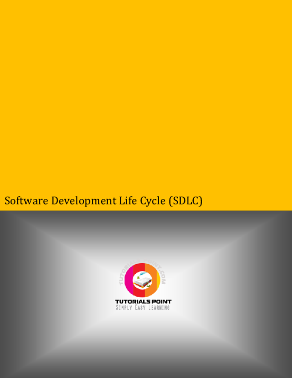 Pdf Software Development Life Cycle Sdlc Amrit Sparsha Academia Edu
