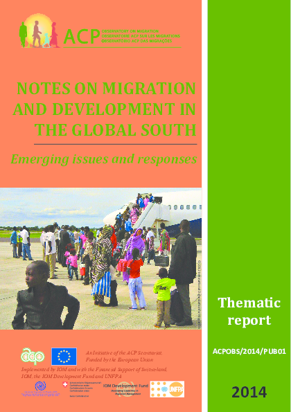 PDF) South South Migration: emerging issues | Monika Peruffo