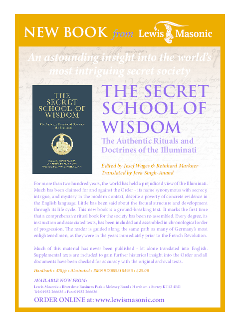 The Secret School of Wisdom: The Authentic Rituals and
