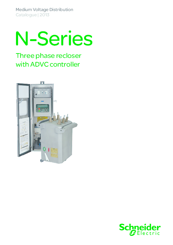 PDF) N-Series Three phase recloser with ADVC controller | Khuong Duy