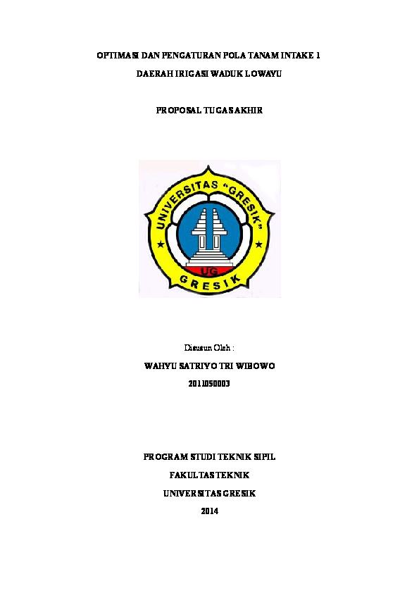 Doc Proposal Tugas Akhir 1 Wahyu Satriyo Academia Edu