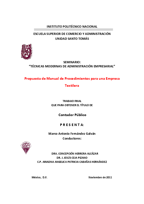 61f219a0d13a2 PDF) Manual de organización de empresa textil