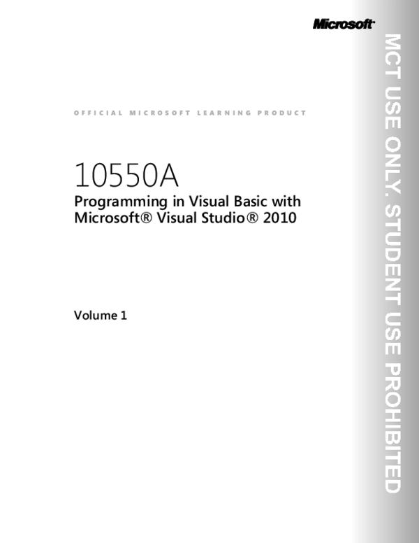 PDF) VB net | asura kido - Academia edu