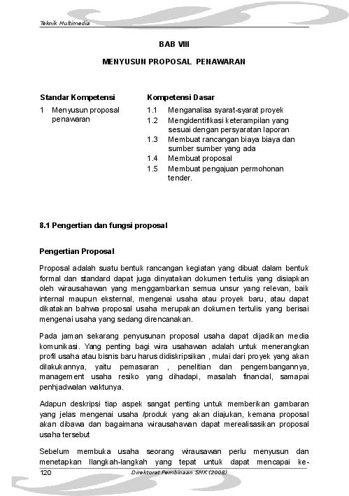 Doc Proposal Penawaran Produk Yenny Oktafitriana Arbi