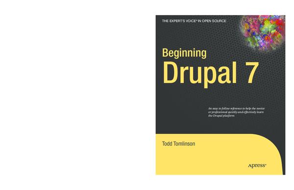 PDF) Beginning Drupal 7 | wahyu prayogo - Academia edu