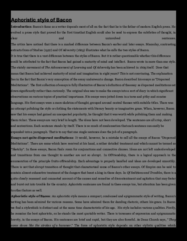 Aphoristic essay popular blog ghostwriter website uk