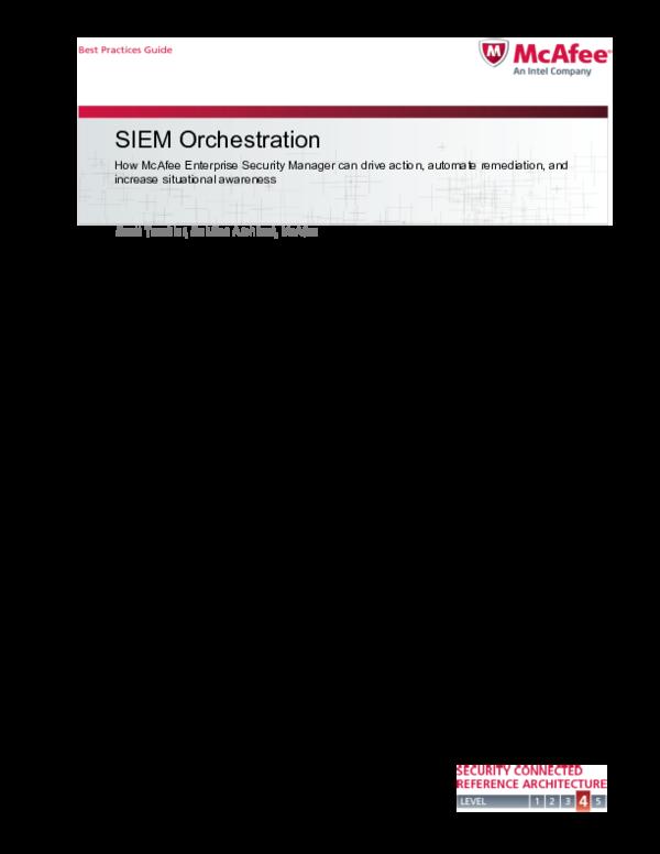 PDF) SIEM Orchestration | ishan khosla - Academia edu