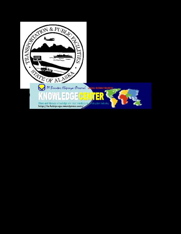 PDF) Alaska Departament of Transportation - Asphalt Pavement