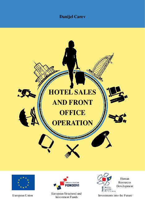 PDF) Book: Hotel Sales & Front Office Operations (2015