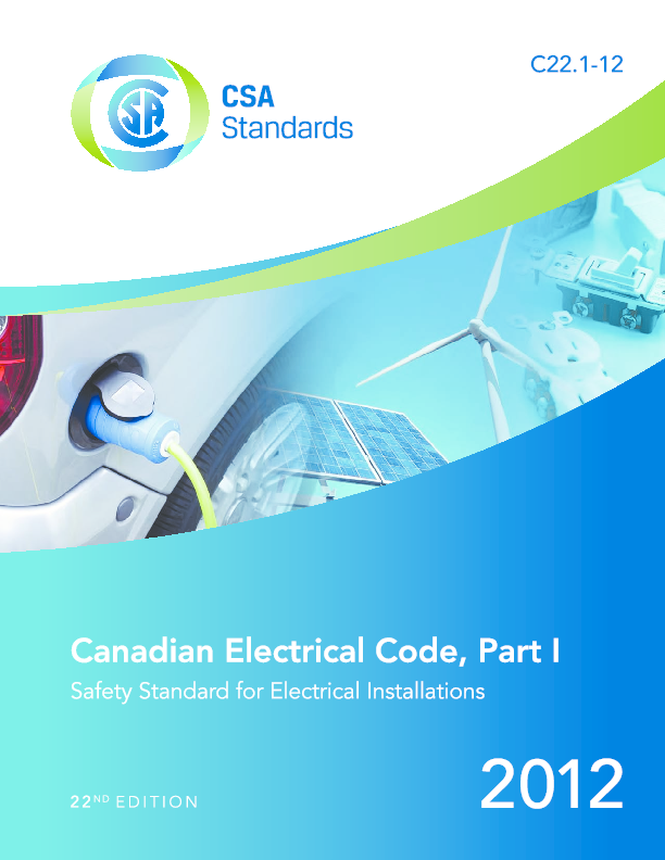 PDF) Canadian Electrical Code 2012 | Richard Chang
