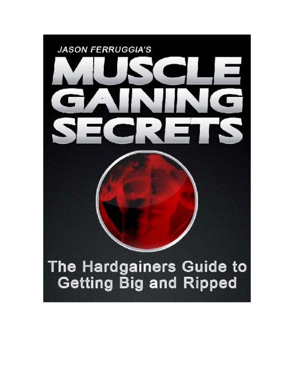 006f1932edad PDF) Muscle Gaining Secrets
