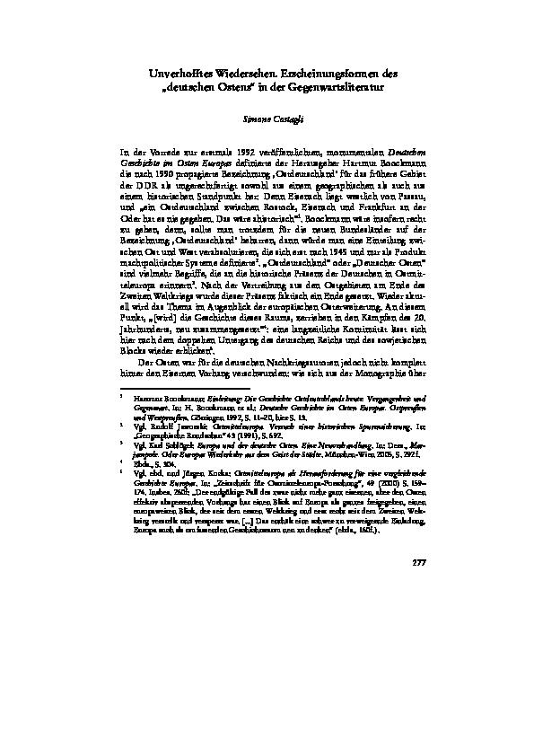 Gegenwartsliteratur Merkmale Gegenwartsliteratur 1