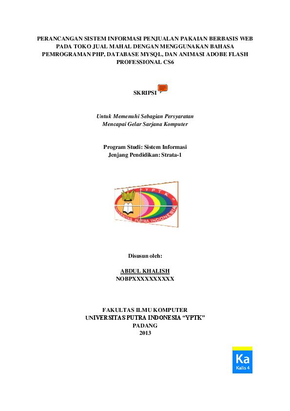 Pdf Data Penjualan Kategori Pakaian Gambar Pakaian Nama Pakaian Faisal Kharie Academia Edu