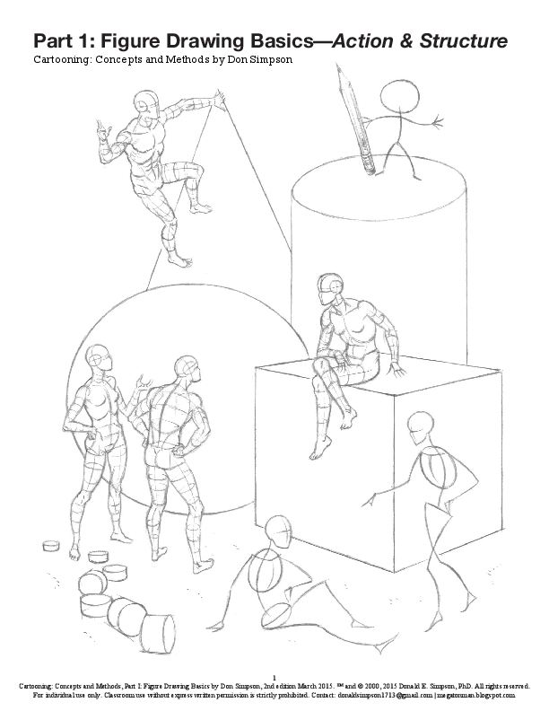 Pdf Booklet Figure Drawing Basics Action Structure 2000 2nd Ed March 2015 Donald E Simpson Academia Edu