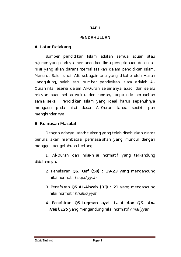 Doc Tafsir Tarbawi Kakroseate Rosita Academiaedu