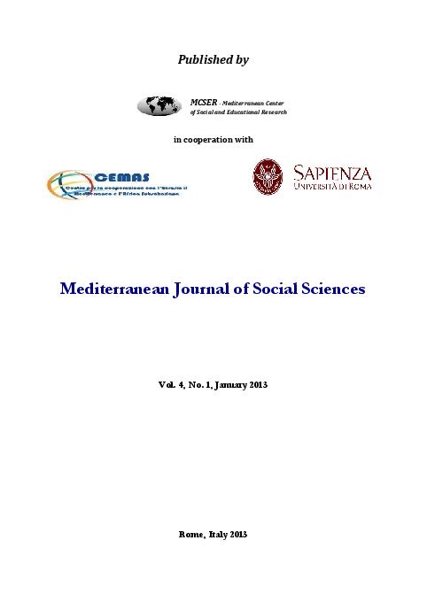 PDF) MJSS vol 4 no 1 january 2013 | Ajuwon Oluseye