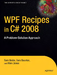 PDF) Apress WPF Recipes in C# 2008 - A Problem-Solution Approach