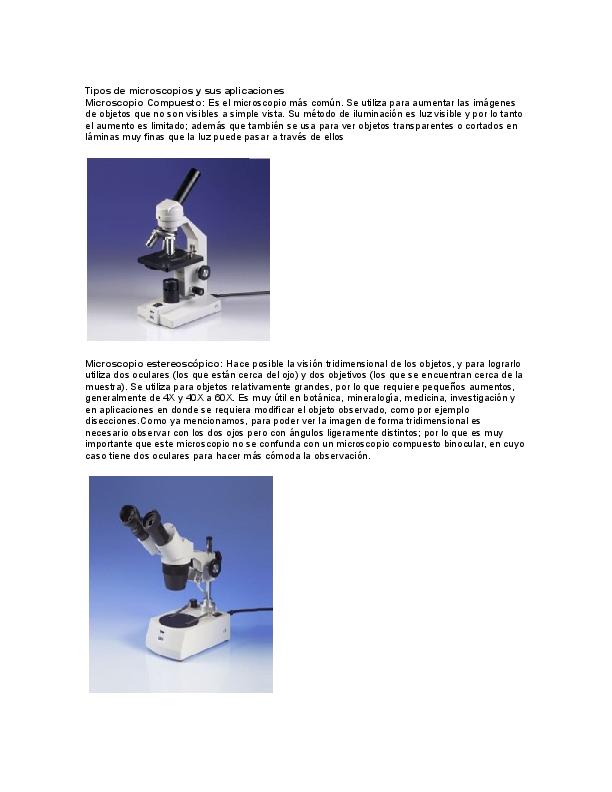 f3f4a26a75 DOC) Tipos de microscopios y sus aplicaciones   rodrigo arizaga leon ...