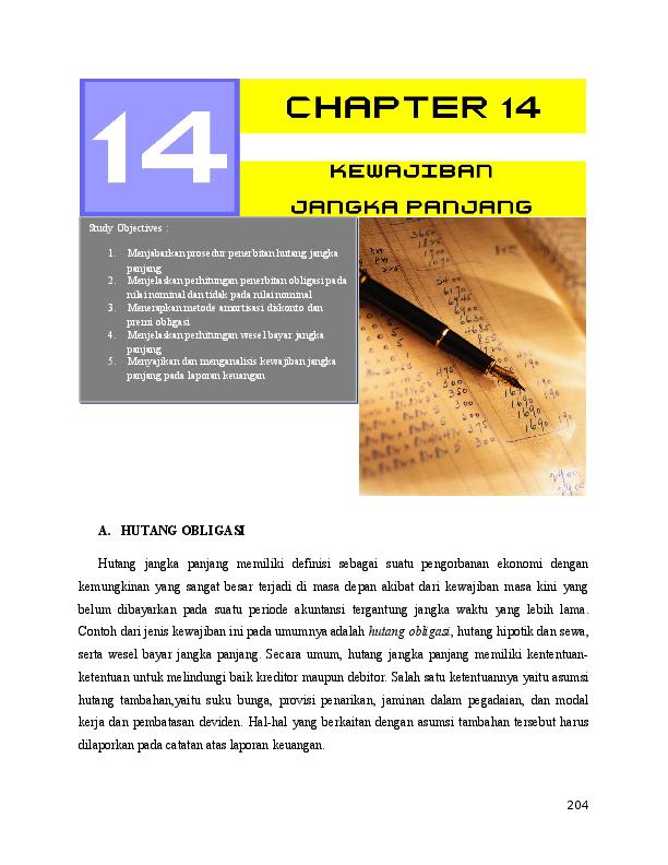 DOC) Bab 14 Kewajiban Jangka Panjang | RIDHO DHARUL FADLI - Academia edu