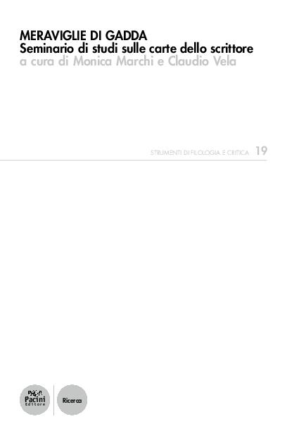 Le carte del Fondo Citati. Percorsi e incagli, in Meraviglie di ... b1f60be371be