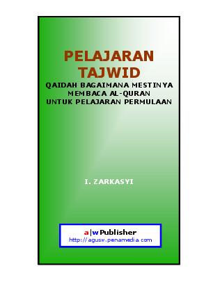 Buku Ilmu Tajwid Pdf