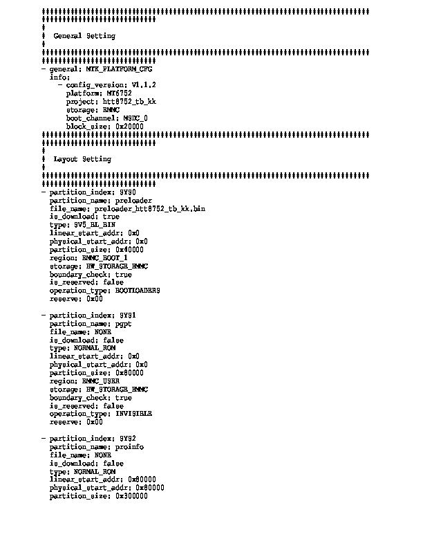 Mt6752 android scatter 4 4 txt скачать