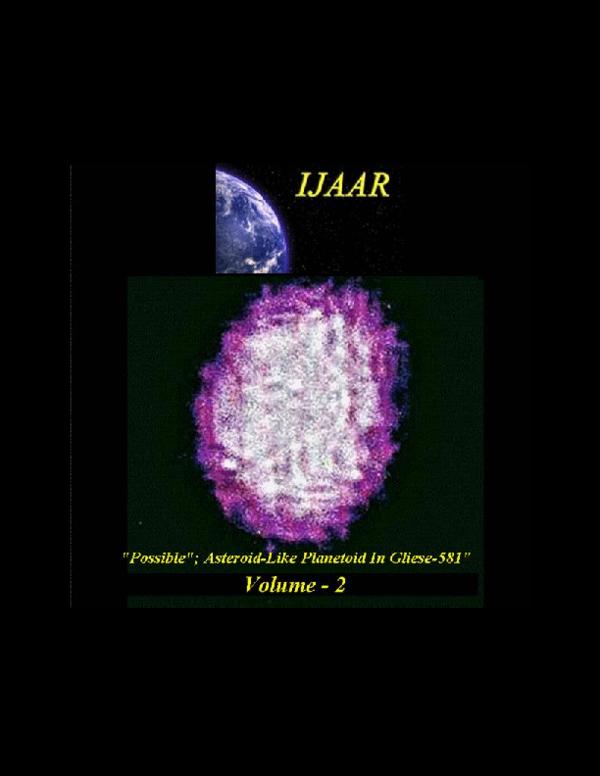 PDF) IJAAR-(Int'l Journal of Astronomy, Astrophysics