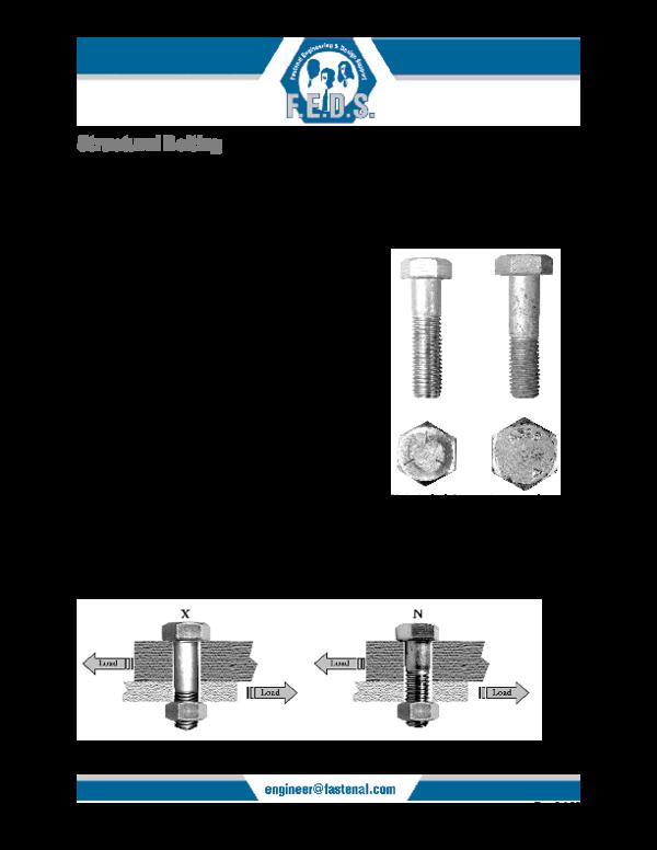 PDF) Structural Bolting   Ramses Sanchez - Academia edu