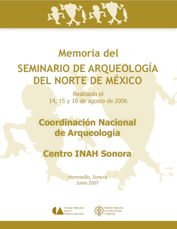 b34a732b PDF) Memoria del Seminario de Arqueología del Norte de México | C ...