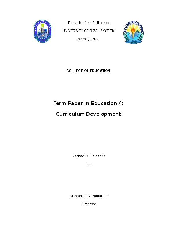 DOC) Analysis of the Curriculum Guide for Grade 7 | Raphael