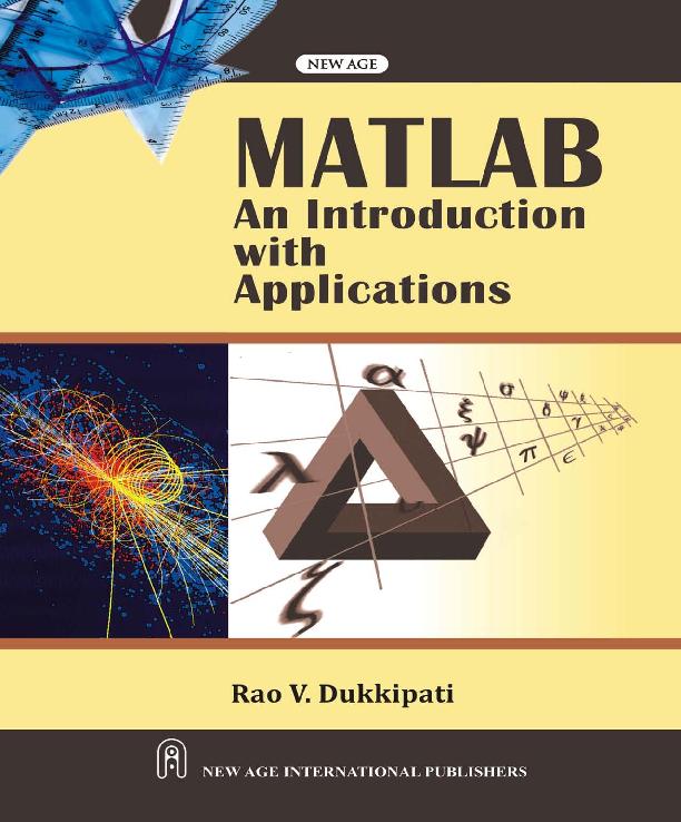 PDF) MATLAB : An Introduction with Applications   Arun Kumar