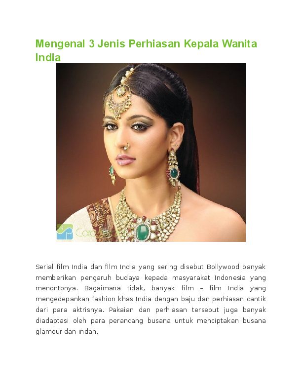 Definisi Pakaian Tradisional Dan Perhiasan Diri - Baju ...