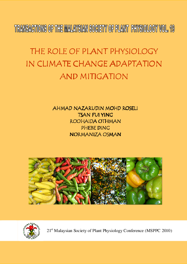 PDF) Changes in Tannin Concentration of Rastali Banana (Musa