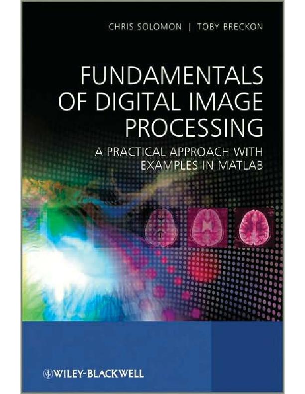 Digital Image Processing ( Examples in Matlab) | Tiểu Quyên