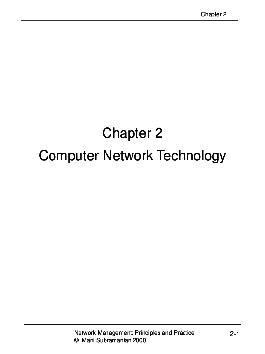 Network Management Principles And Practice Pdf