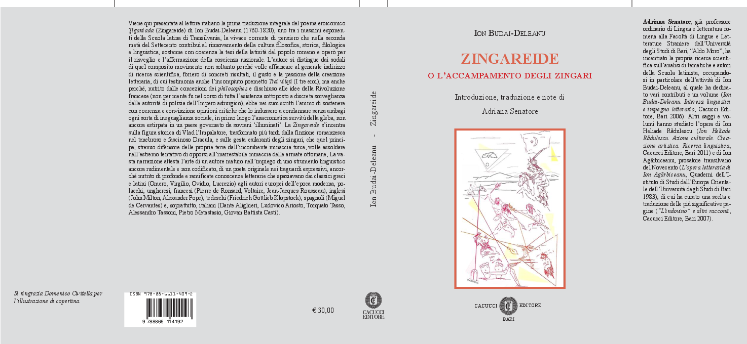PDF) Budai-Deleanu, Zingareide, Introduzione, traduzione e