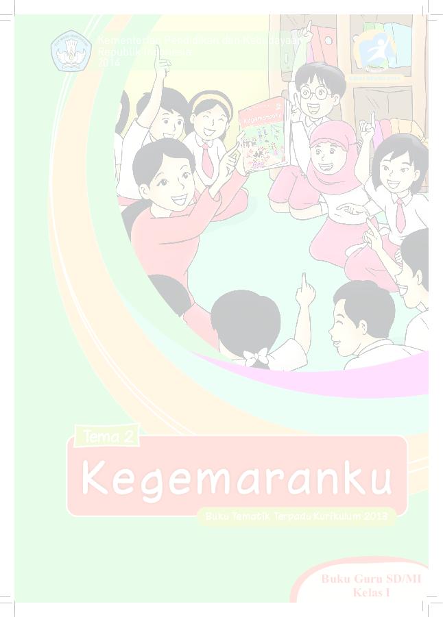 Pdf Buku Pegangan Guru Sd Kelas 1 Tema 2 Kegemaranku Matematohir WordPress Com Arini K Dex Academia Edu