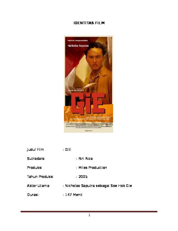 Free Download Film Gie Bersama