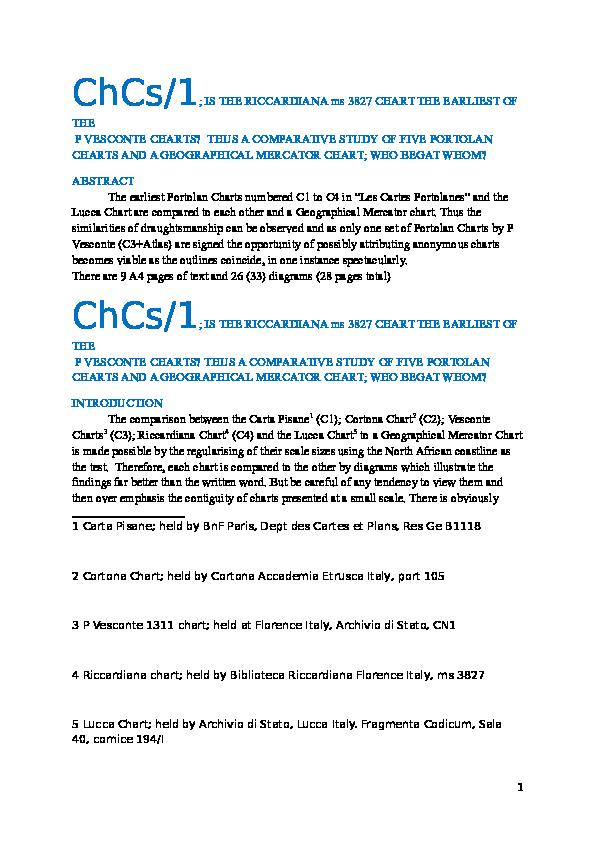 DOC) ChCs/1