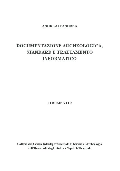 Metodologie di dating in archeologia