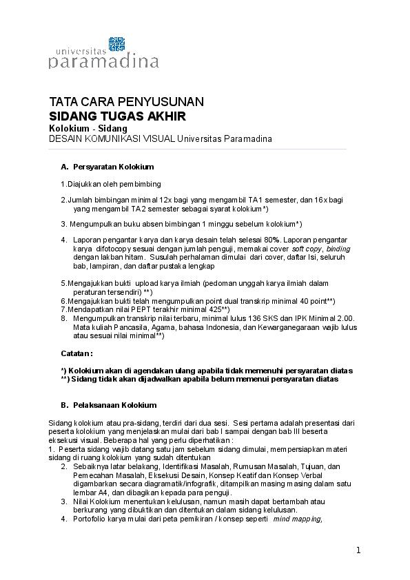 Contoh Proposal Tugas Akhir Research Papers Academia Edu