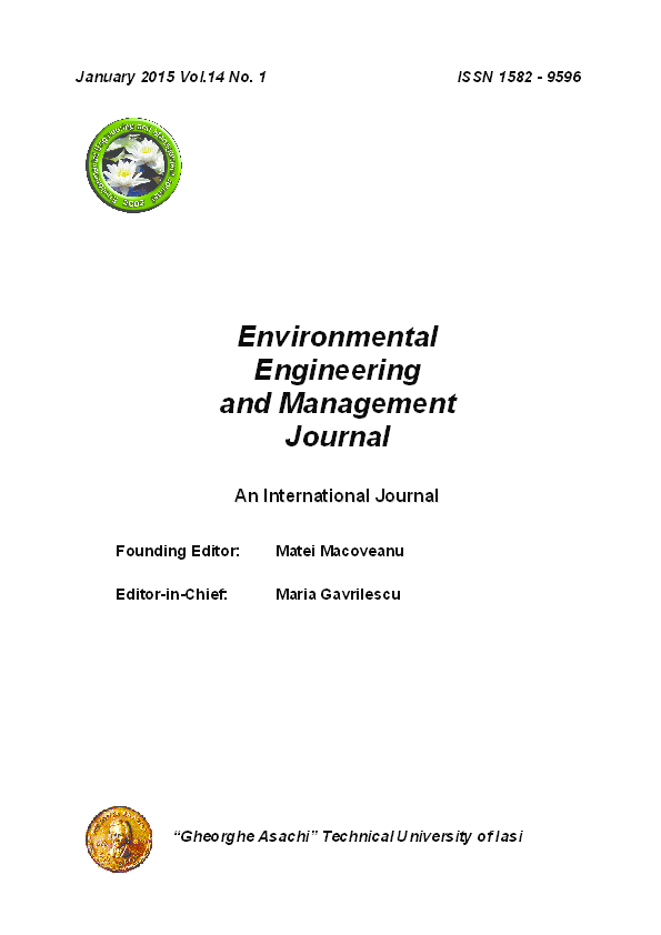 PDF) EEMJ Nr 1 Vol 14 2015 | nada Bajec - Academia edu